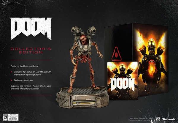 Doom será entregado el 13 de mayo