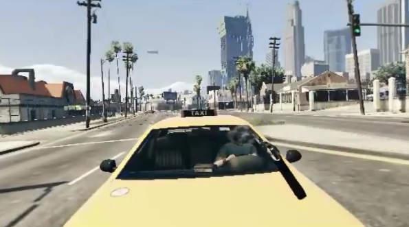 GTA V: Mod de Realidad Virtual es Realmente Brutal