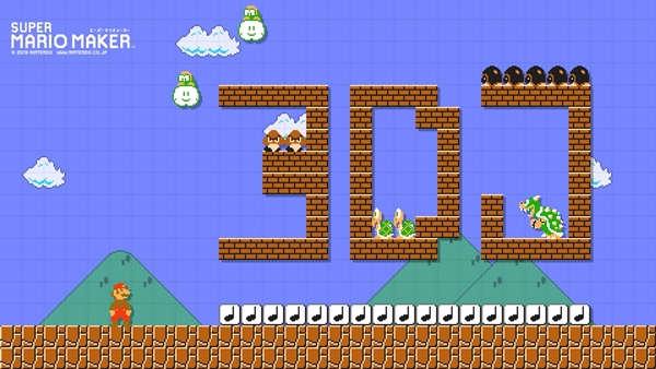 Nintendo lanza portal para crear wallpaper con Super Mario Maker