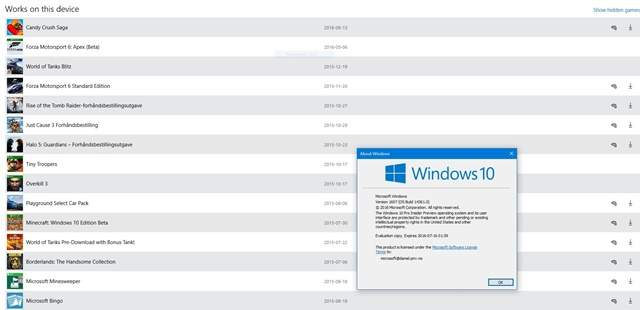 Juegos de Xbox 360 y Xbox One podrían jugarse en Windows 10