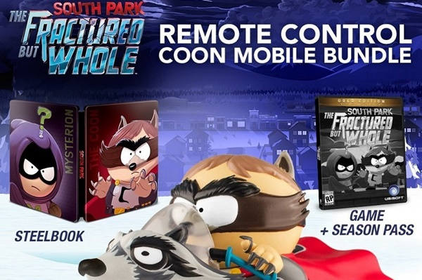 Edición Especial de South Park: Fractured But Whole incluye Mapachemovil