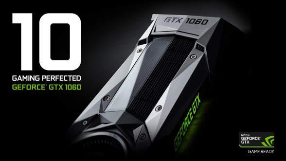 Nvidia GTX 1060 saldrá a la venta el 19 de julio desde 249 dólares