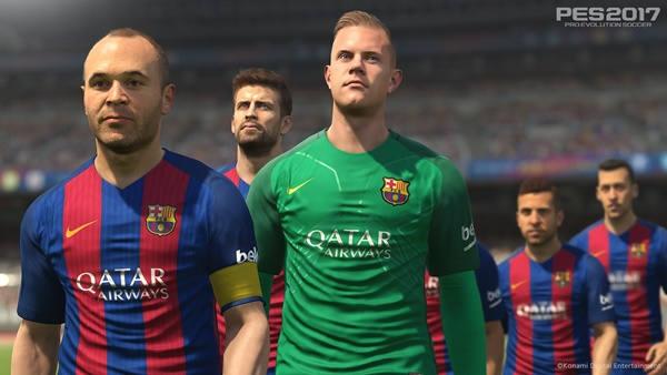 PES 2017 y FC Barcelona firman acuerdo de exclusividad
