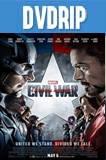 Capitán América 3: Guerra civil (2016) DVDRip Español Latino