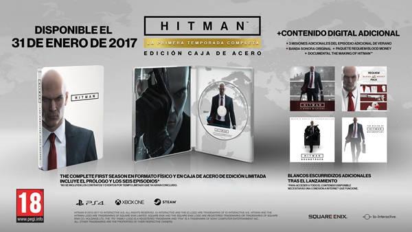 Llegada de Hitman: La Primera Temporada Completa será el 31 de enero