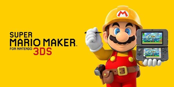 Super Mario Maker para Nintendo 3DS disponible desde diciembre