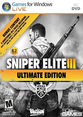 Sniper Elite 3 Afrika Ultimate Edition PC Full Español