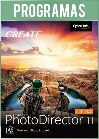 CyberLink PhotoDirector Ultra Versión 11 Full Español