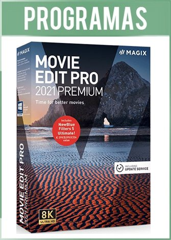 MAGIX Movie Edit Pro 2021 Premium Versión Full Español