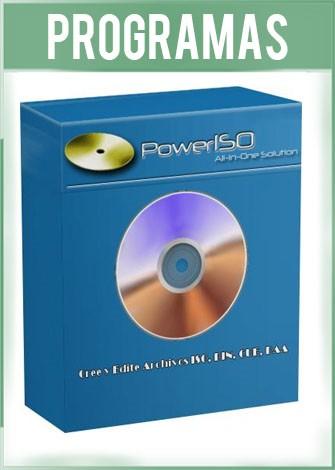 PowerISO Versión 7.4 Full Español