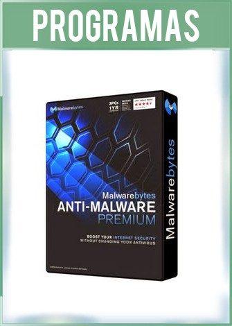 Portada de Malwarebytes Anti-Malware Premium Versión 4.1.2.73 Español