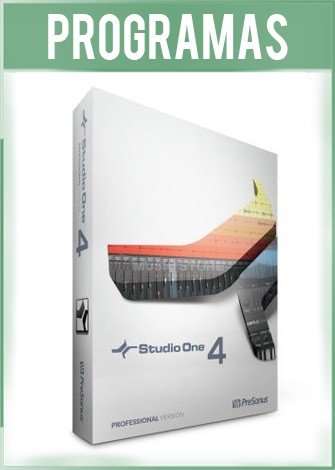 PreSonus Studio One Pro Version 4.5 Full Español