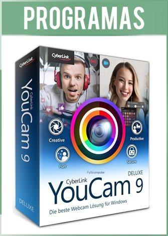 CyberLink YouCam Deluxe Versión Full Español