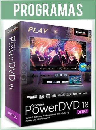 PowerDVD 18.0.2307.62 Ultra Español CyberLink Reproductor HD