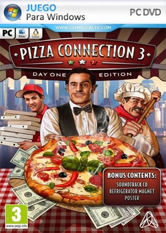 Pizza Connection 3 Halloween PC Full Español
