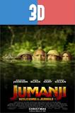 Jumanji En la selva (2017) 3D SBS Latino