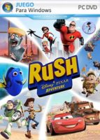 Rush: A Disney Pixar Adventure PC Full Español (Windows 7)