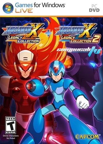 Mega Man X Legacy Collection (2018) 1 + 2 PC Full Español