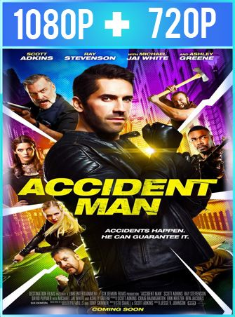 Accident Man (2018) HD 1080p y 720p Latino