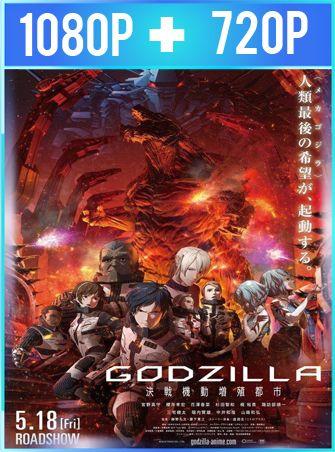 GODZILLA: Ciudad al filo de la batalla (2018) HD 1080p y 720p Latino