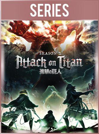 Ataque a los Titanes Temporada 2 Completa HD 720p Subtitulado