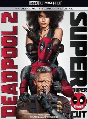Deadpool 2 UNRATED (2018) 4K Ultra HD Latino Dual
