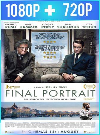 Final Portrait El arte de la amistad (2017) HD 1080p y 720p Latino