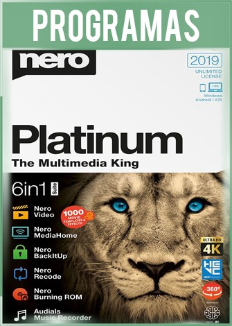 Nero Platinum Suite 2020 Full Español