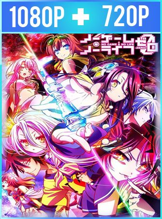 No Game no Life: Zero (2017) HD 1080p y 720p Latino