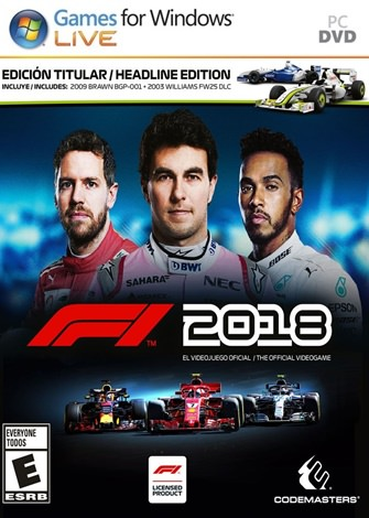descargar formula f1 2018 pc full espa ol versi n. Black Bedroom Furniture Sets. Home Design Ideas