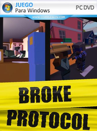 Broke Protocol Online City RPG PC Game Early Access