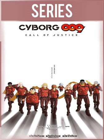 Cyborg 009 Call of Justice Temporada 1 Completa HD 720p Latino Dual
