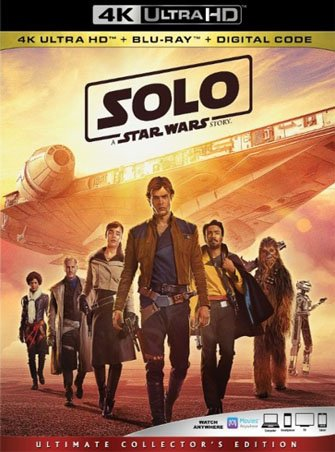 Han Solo: Una historia de Star Wars (2018) 4K Ultra HD Latino Dual