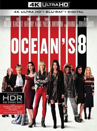 Ocean's 8: las estafadoras (2018) 4K Ultra HD Latino Dual