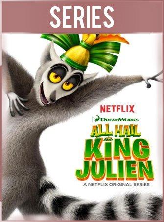 Viva el Rey Julien Temporada 1 Completa HD 720p Latino Dual