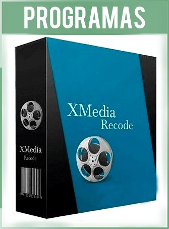 XMedia Recode Versión 3.4.5.2 Español - Convertidor de Audio y Vídeo