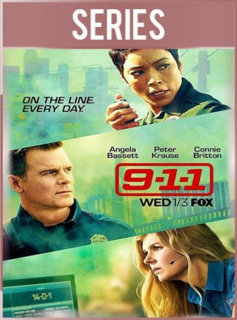 9-1-1 Temporada 1 Completa HD 720p Latino Dual