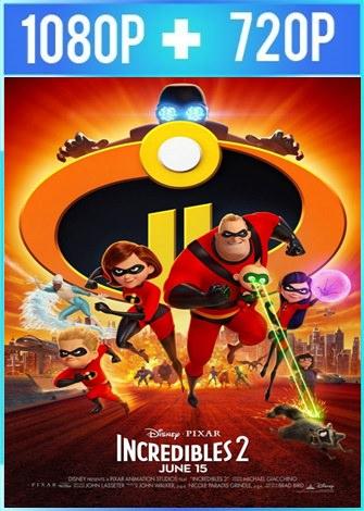 Los Increibles 2 (2018) HD 1080p y 720p Latino Dual