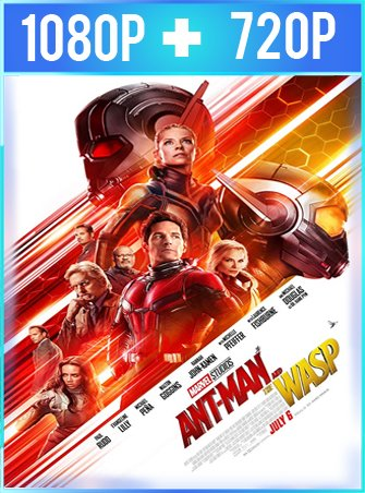 Ant-Man and The Wasp El hombre hormiga y La avispa (2018) HD 1080p y 720p Latino
