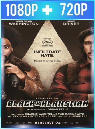 El infiltrado del KKKlan (2018) HD 1080p y 720p Latino