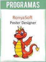 RonyaSoft Poster Designer Versión 2.3.19 Full (Diseñador de posters y tarjetas)