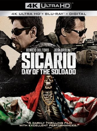 Sicario Day of the Soldado (2018) 4K Ultra HD Latino Dual