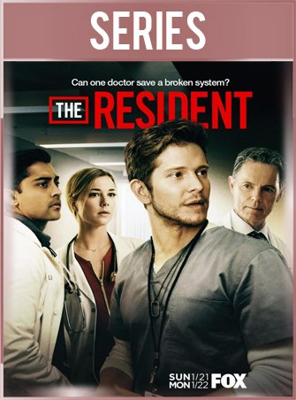 The Resident Temporada 1 Completa HD 720p Latino Dual