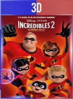 Los Increíbles 2 (2018) 3D SBS Latino