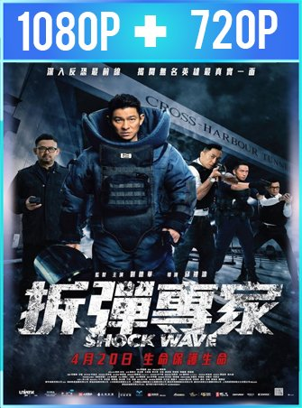 Shock Wave (2017) HD 1080p y 720p Latino