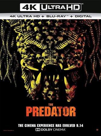 El depredador (2018) 4K Ultra HD Latino Dual