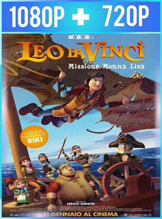 Leo Da Vinci: Mission Mona Lisa (2018) HD 1080p y 720p Latino
