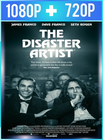 The Disaster Artist: obra maestra (2017) HD 1080p y 720p Latino