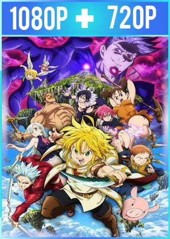 The Seven Deadly Sins Prisioneros del cielo (2018) HD 1080p y 720p Latino