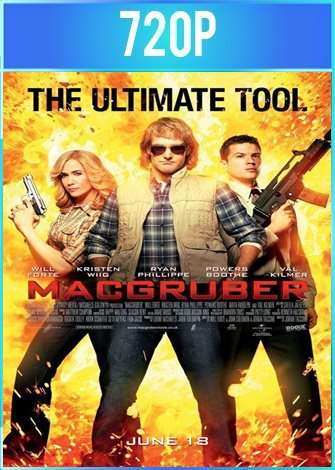 MacGruber (2010) UNRATED BRRip HD 720p Latino Dual